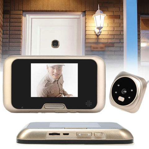 "3.2"" LCD Video Door Peephole Viewer"
