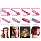 8 In 1 Hair Styling Tools