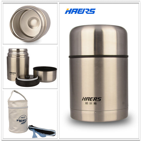 Stainless Steel Insulated Food Container Vacuum Lunch Box Thermos for Kids