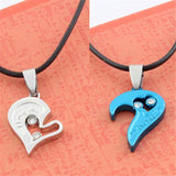 High Quality Couple Necklace I Love You Heart Shaped Pendant - UYL Online Store