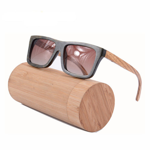 Wood Bamboo Sunglasses Vinatage Men Polarized Wooden Glasses Fashion Brand Designer Sun Glasses