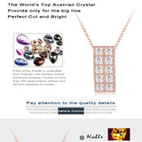 Rectangle Pendant Necklace For Women