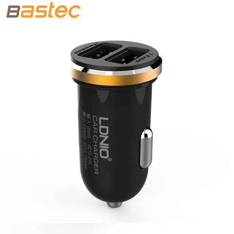 Dual Port Mini USB Car Charger For iPhone & Android Phones - UYL Online Store