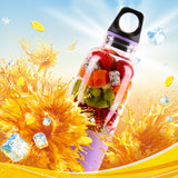 Portable Electric Fruit Juicer Bottle