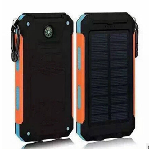 20000mah Waterproof Solar Charger Power Bank - UYL Online Store