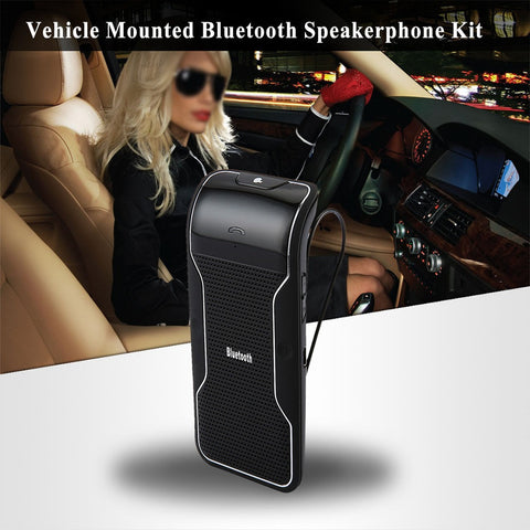 Bluetooth Car Kit - Portable and Hands-free - for All Phones