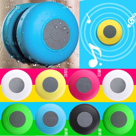 Portable Subwoofer Shower Waterproof Wireless Bluetooth Speaker FREE plus Shipping Offer