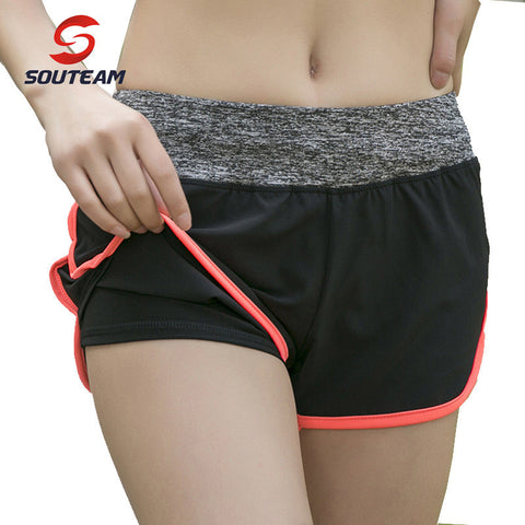 SOUTEAM Breathe Freely Women Fitness Shorts