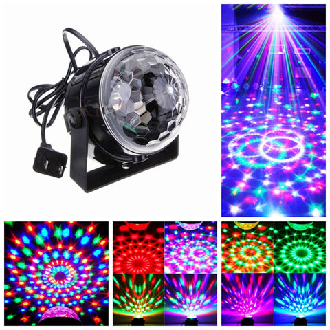 Disco DJ Stage Lighting Digital LED RGB Crystal Ball Light