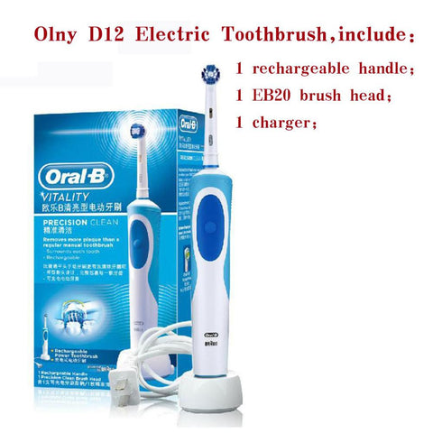 Oral B Electric Toothbrush Rechargeable