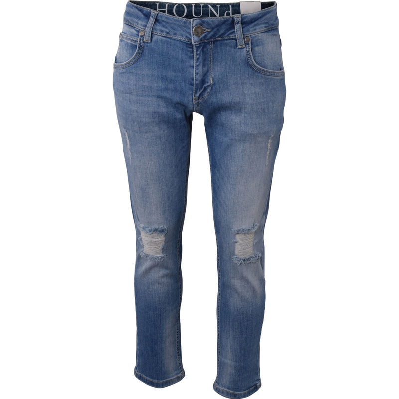 HOUNd BOY STRAIGHT Jeans 7/8 length Jeans Trashed blue