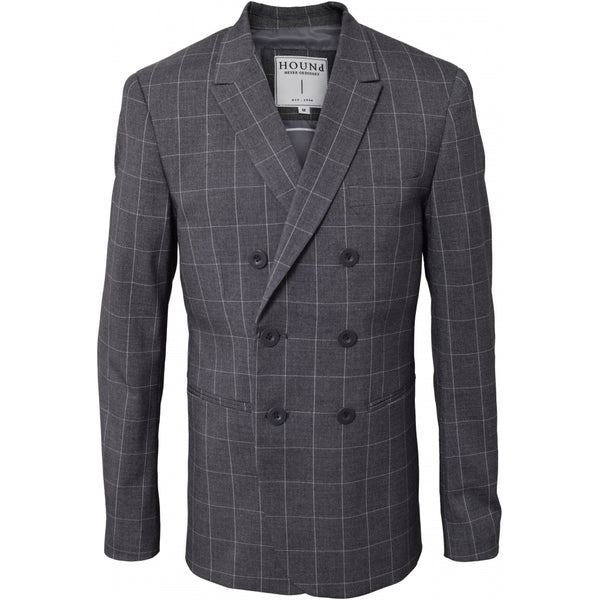 HOUNd BOY Blazer Double Breasted Blazer Checks