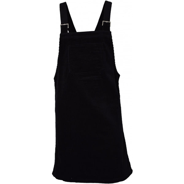 HOUNd GIRL Corduroy spencer dress dress Black