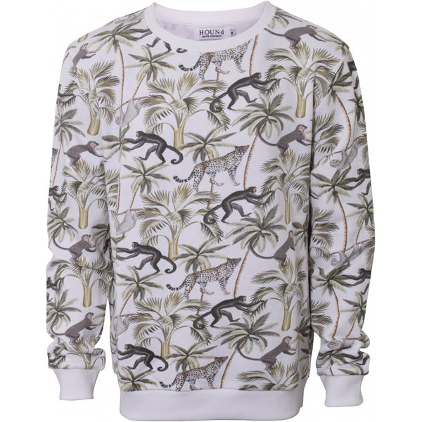 HOUNd BOY Crew neck crew neck All over print