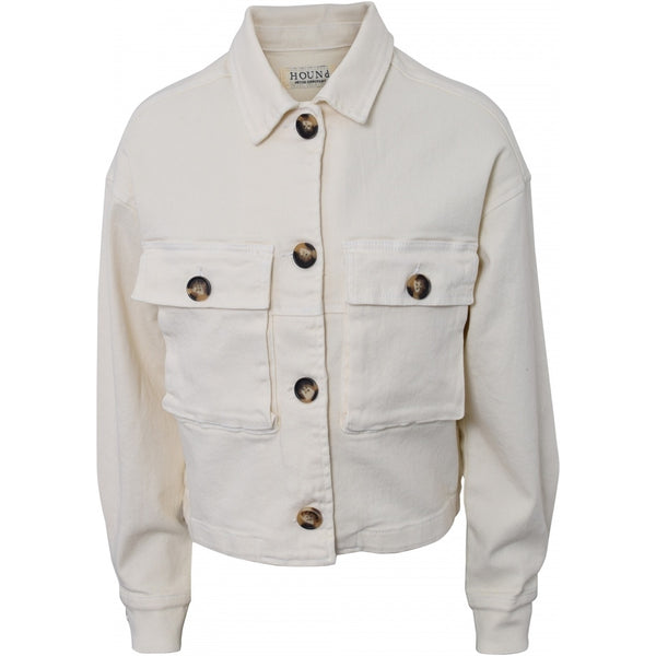 HOUNd GIRL Denim jacket Jacket Off white