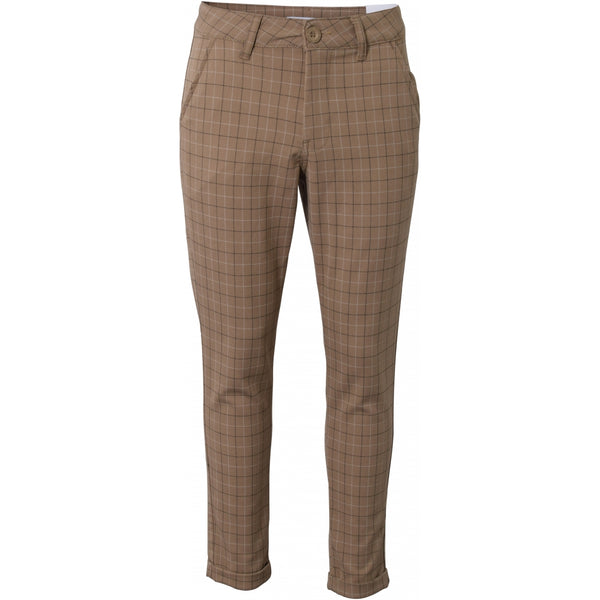 HOUNd BOY Fashion Chino checks pants Sand