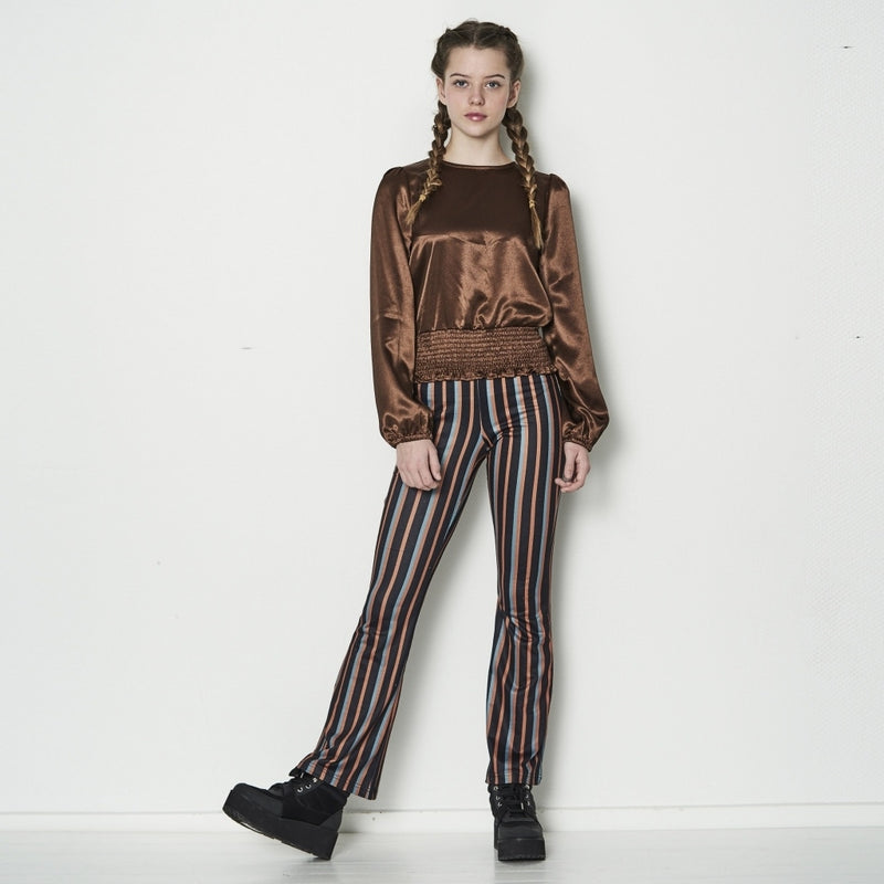 HOUNd GIRL Flare pants pants Striped