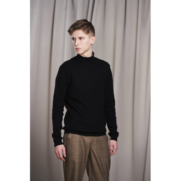 HOUNd BOY Knit Roll Neck Knit Black