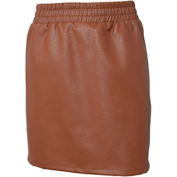 HOUNd GIRL Pu skirt skirt Rusty orange