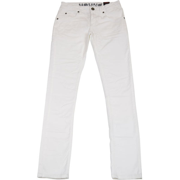 HOUNd BOY STRAIGHT pants White denim