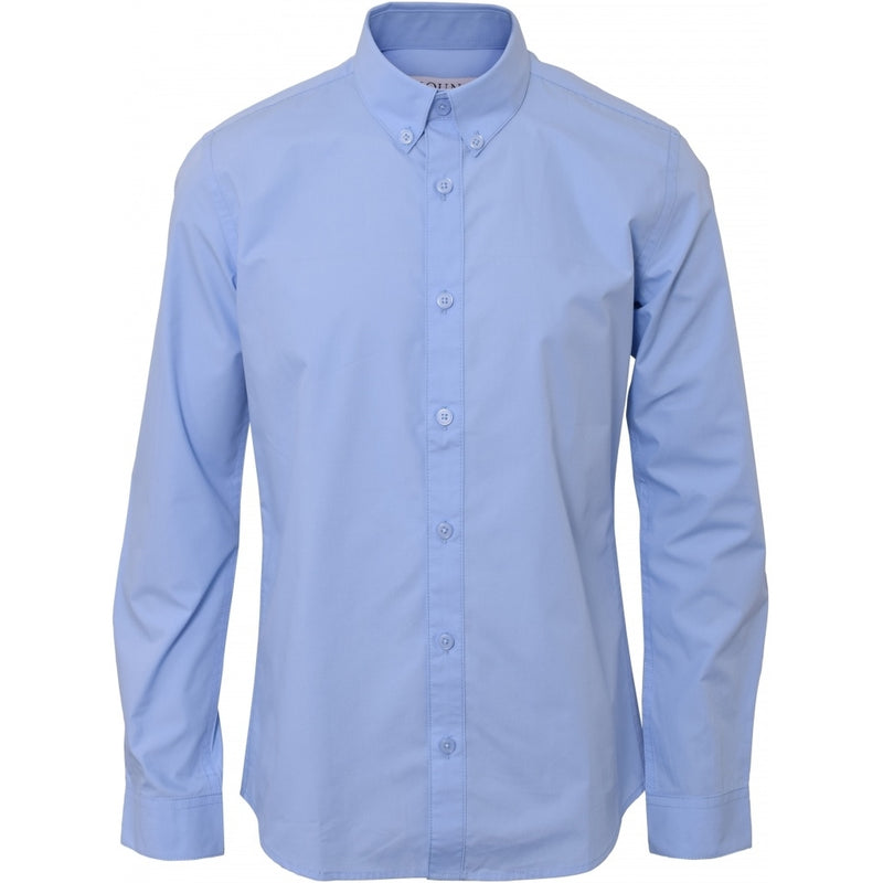 HOUNd BOY Shirt Plain button down shirt Light blue
