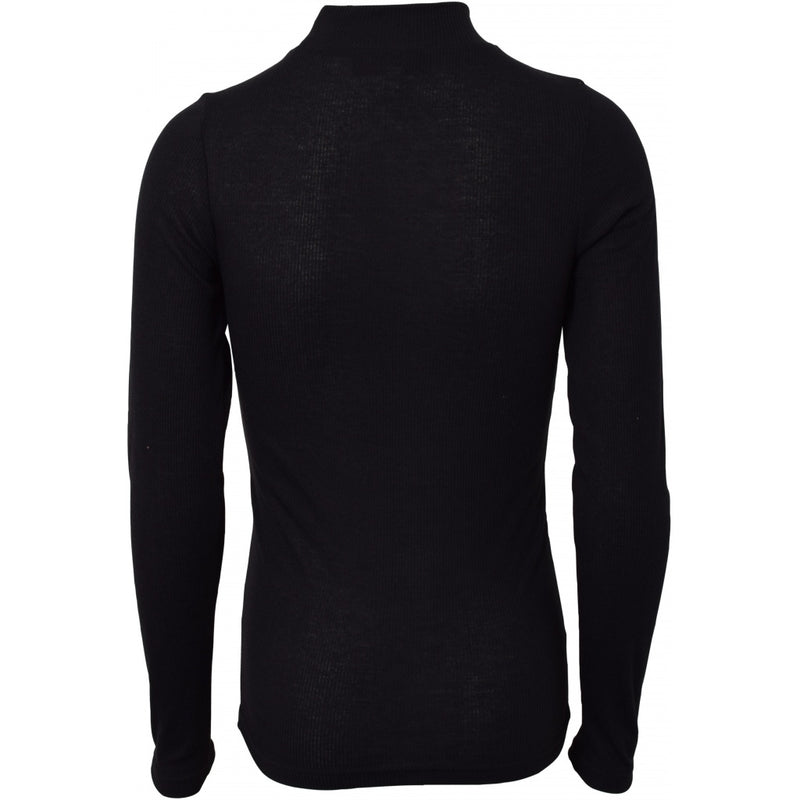 HOUNd GIRL Turtle neck Top Black