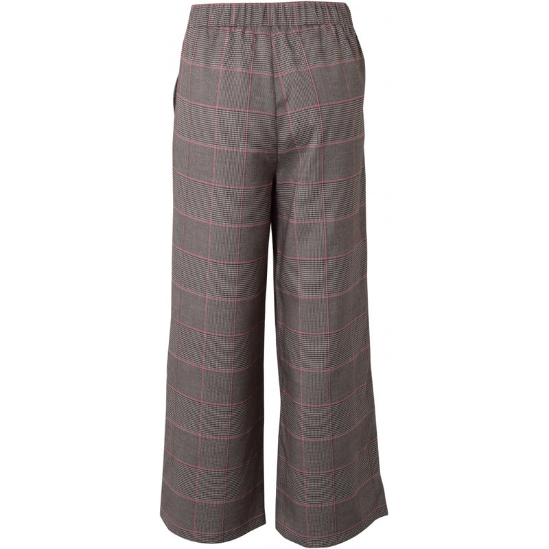 HOUNd GIRL Wide pants checks pants Light red