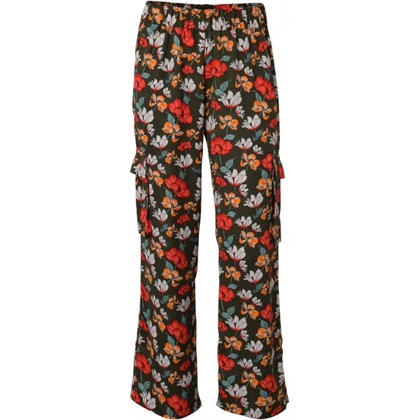 HOUNd GIRL Wide pocket pants pants Flower print