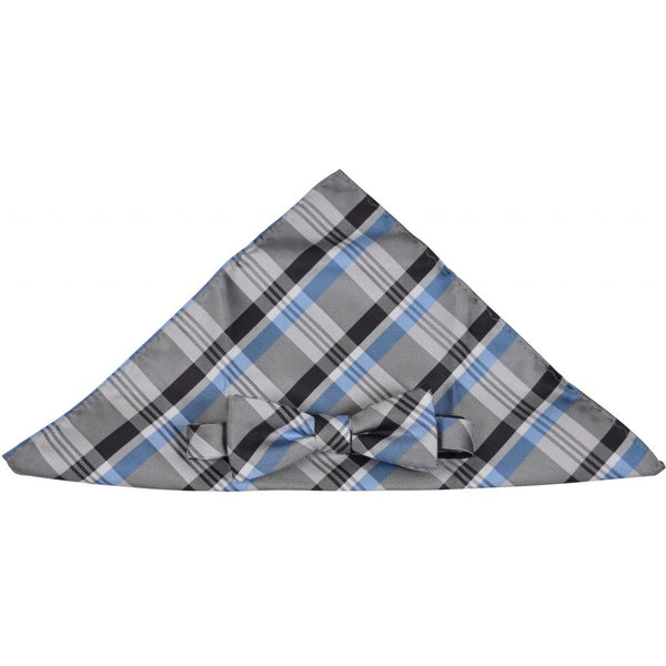 HOUNd BOY Butterfly / pocket tie Butterfly Checks