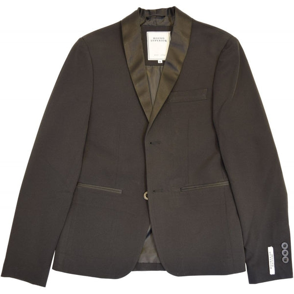 HOUNd BOY Blazer w/satin effect Blazer Black