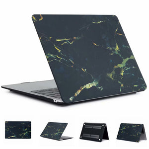 MacBook Air Black Marble Gold