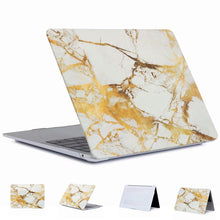 Load image into Gallery viewer, Macbook Air Gold Marble