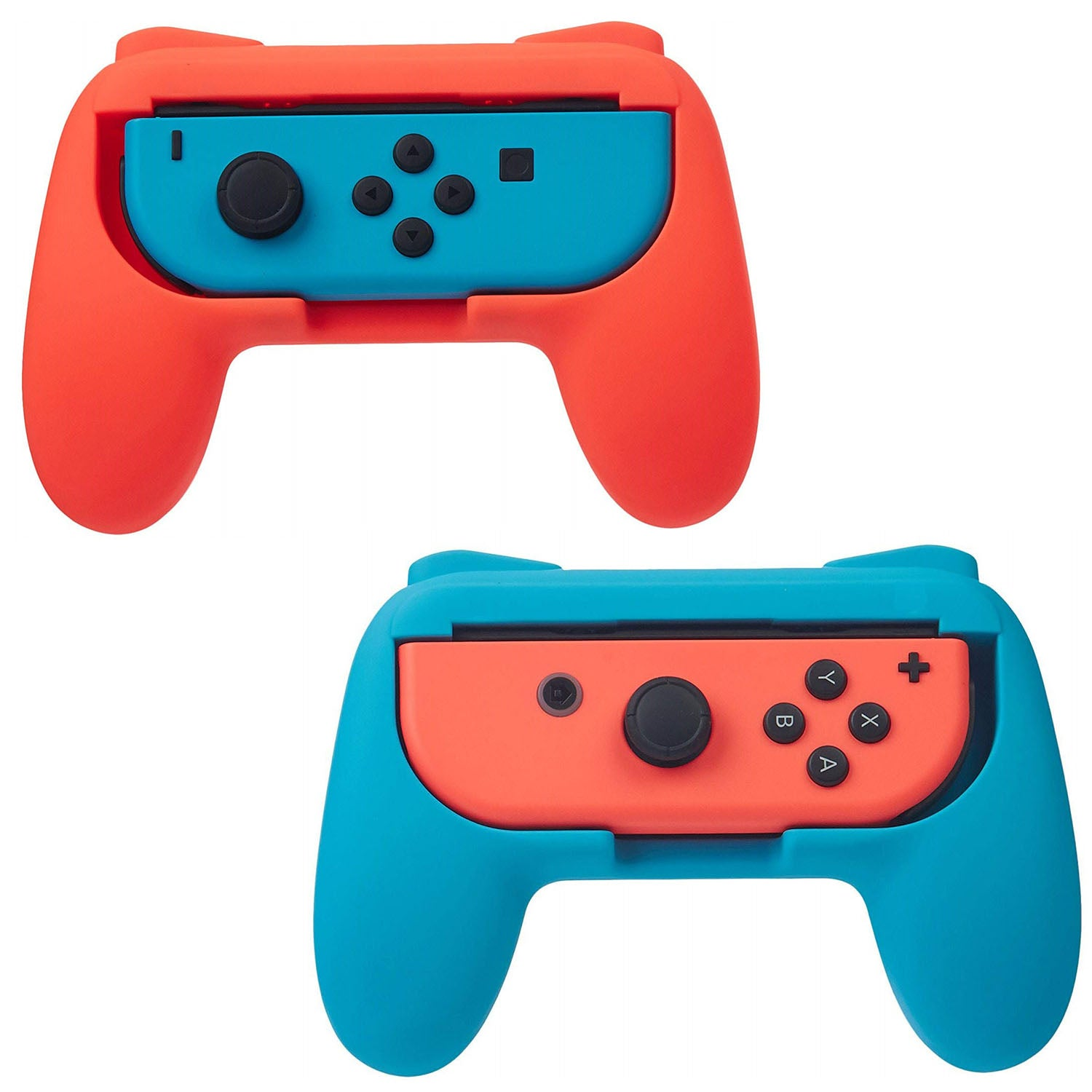 2 Pack Wear Resitant Handle Grip for Nintendo Switch Joy-Con Controllers 1
