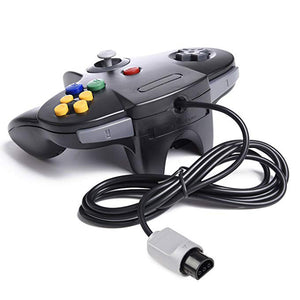 Family 4 Pack 1.8m/6FT Nintendo Retro N64 6, Black, White, Grey, Gold