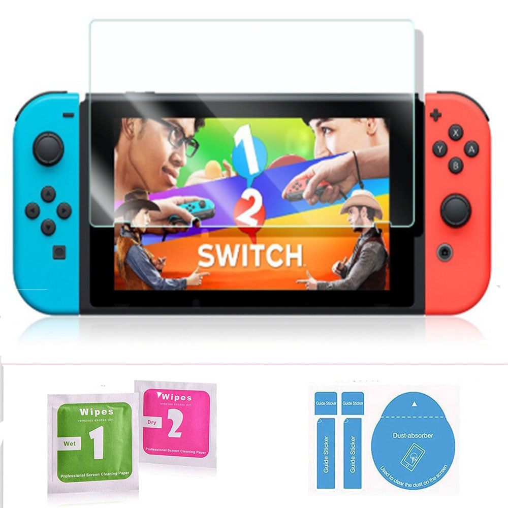 [2 Pack] Tempered Glass Screen Protector for Nintendo Switch 2017 4