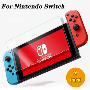 [2 Pack] Tempered Glass Screen Protector for Nintendo Switch 2017 5