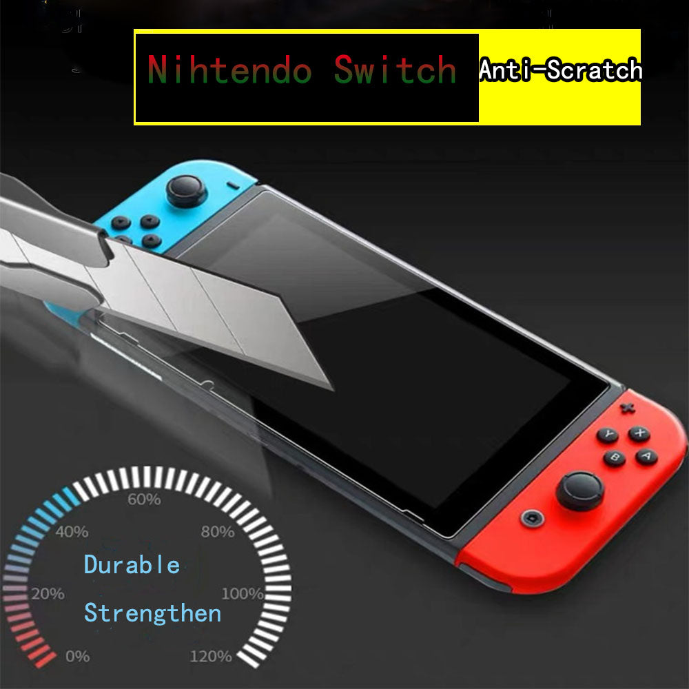 [2 Pack] Tempered Glass Screen Protector for Nintendo Switch 2017 7