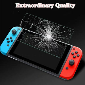 [2 Pack] Tempered Glass Screen Protector for Nintendo Switch 2017 8