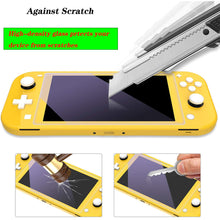 Load image into Gallery viewer, [2 Pack] Tempered Glass Screen Protector for Nintendo Switch Lite 4
