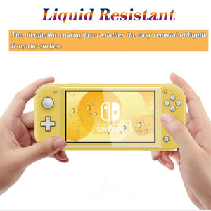 [2 Pack] Tempered Glass Screen Protector for Nintendo Switch Lite 5