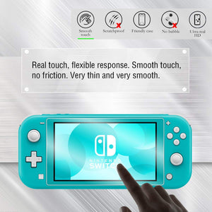 [2 Pack] Tempered Glass Screen Protector for Nintendo Switch Lite 6