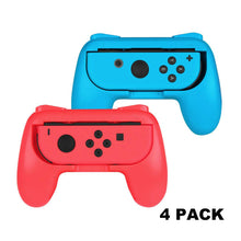 Load image into Gallery viewer, 4 Pack Nintendo Grip Case Cover
