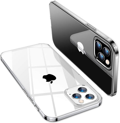 Crystal Slim Anti-Scratch Protective Case for iPhone 12 0