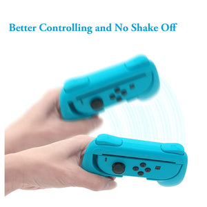 2 Pack Wear Resitant Handle Grip for Nintendo Switch Joy-Con Controllers 9