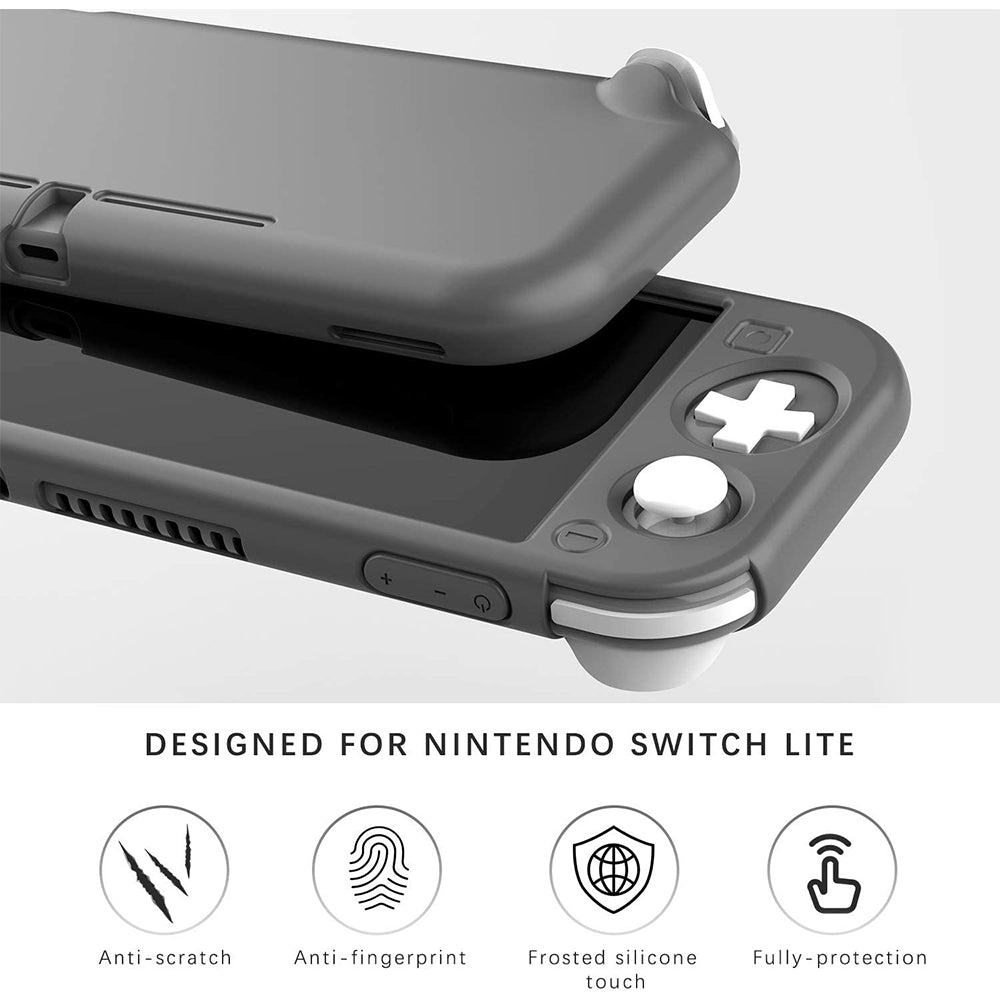Anti-Collison Non-Slip Grip Silicone Case for Nintendo Switch Lite 7