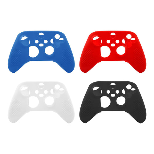 Silicone Skin Case Cover for Xbox Series X, Series S 4 Pack
