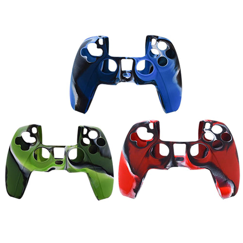 Anti-Slip Silicone Skin Case for PS5 DualSense Controller Combat 3Pack