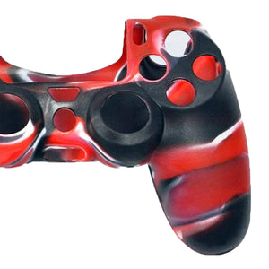 Anti-Slip Silicone Skin Case for PS5 DualSense Controller Combat Red 1