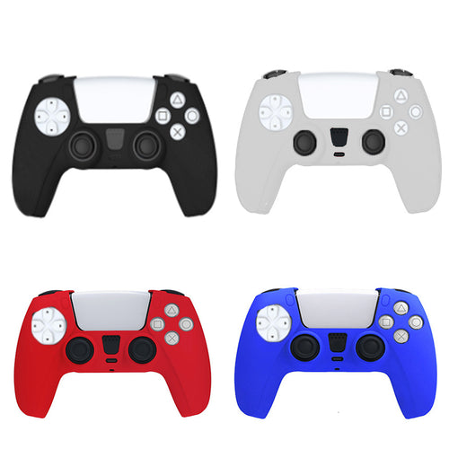 Silicone Skin Case Cover for Sony PlayStation 5 PS5 DualSense Controller 0