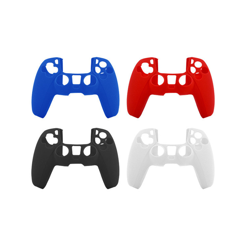 Silicone Skin Case Cover for Sony PlayStation 5 PS5 DualSense Controller 1